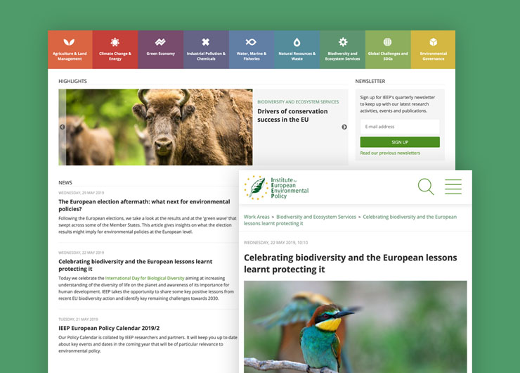 IEEP - The Institute of European Environmental Policy